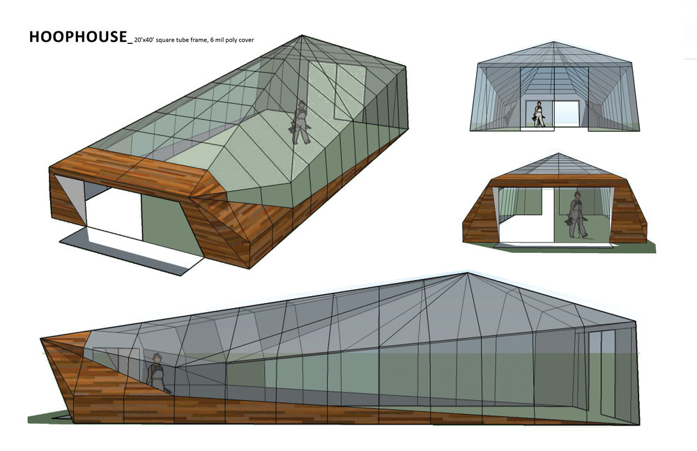 Greenhouse Design currently under construction