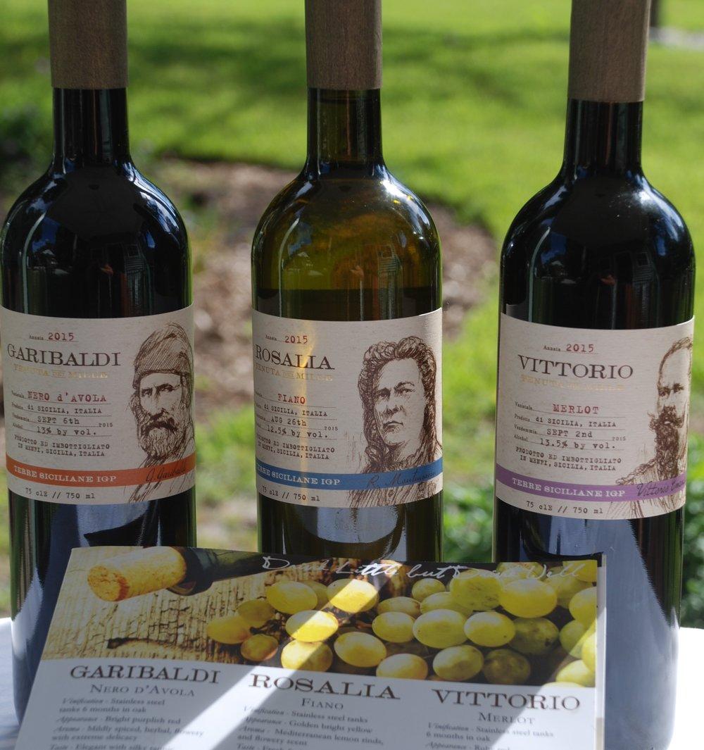 a 10 NOBILE IMPORTS SICILIAN WINE