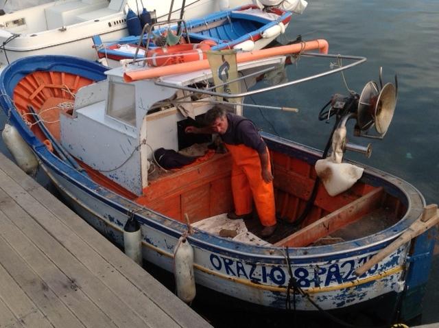 Fisherman in Sicily
