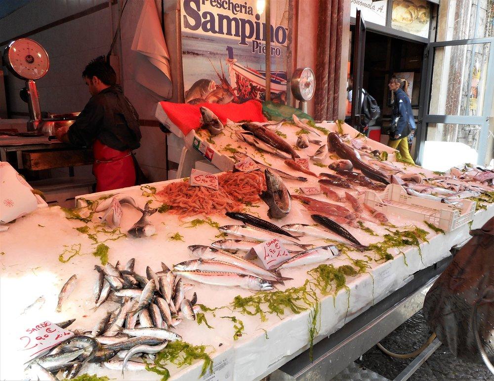 Palermo-fish market