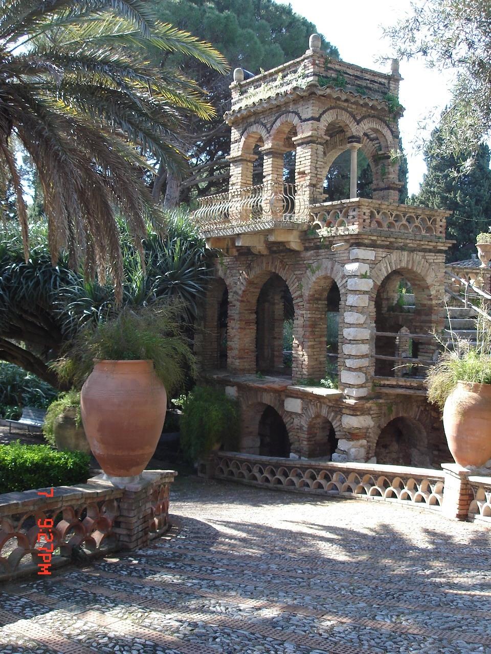 Historical garden by Mt Enta, Sicily