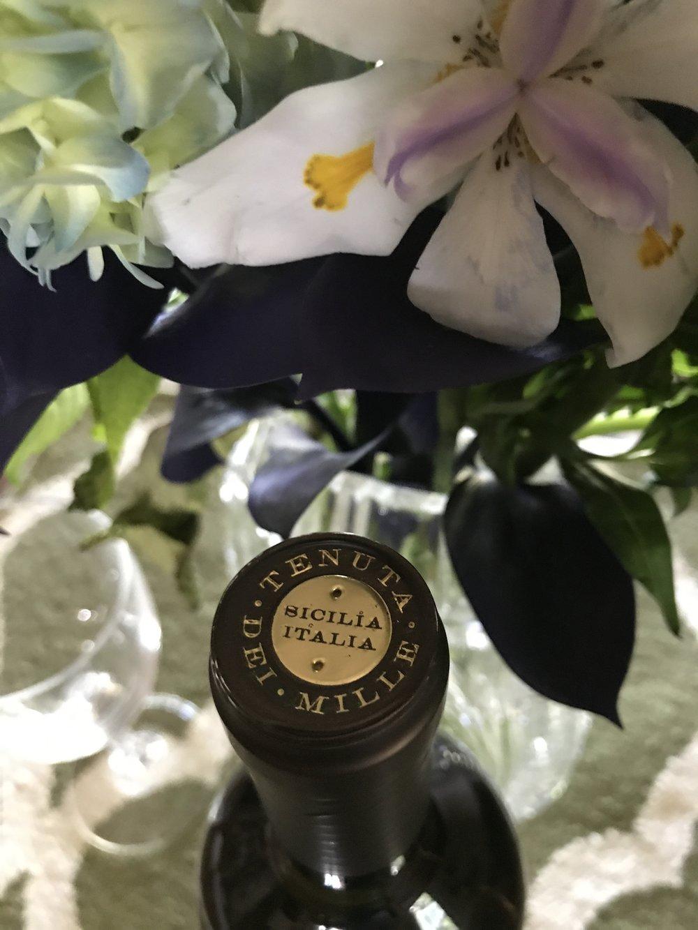 Tenuta Dei Mille wine bottle capsule