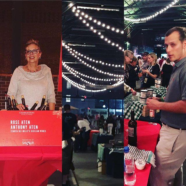 "Charleston Wine and Food Festival, ""That's Amore"" Tenuta Dei Mille's Sicilian Wines. #events #wine #italianstyle"