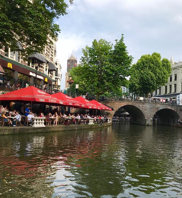 Utrecht, Netherlands, Enjoyed Italian Food, Wine, and canal view! #dutch #lifestyle #foodandwine #holiday