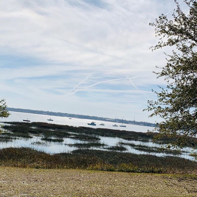 A Scenic view of the Beaufort,SC, the low-country waterways are picturesque in the winter time. #photo #waterview #vacation