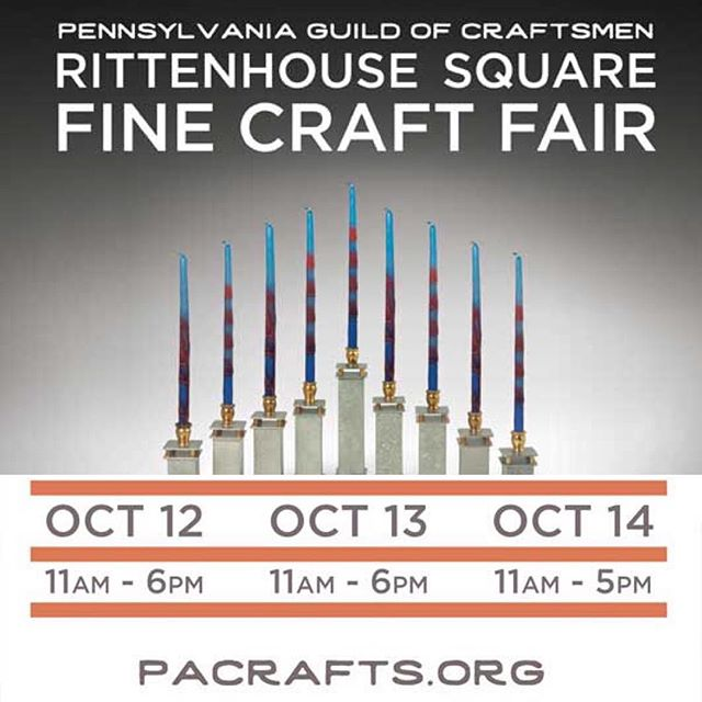 Fall Tour  Philadelphia, Pa  @pacrafts #yesiamtheartist  Asheville, NC  @hotworksartshows  Richmond, Va  @visartsrva #craftanddesign2018