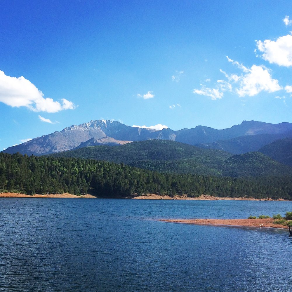 Inspirational travel photos seemed fitting for the Sunday posts...this one is Pike's Peak in Colorado Springs, CO