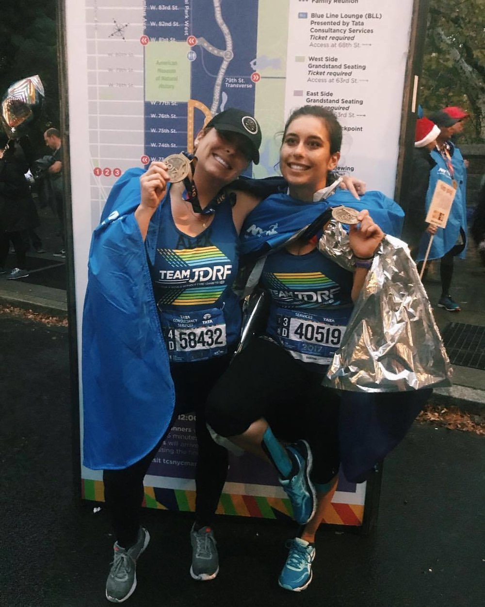 Alex ran the 2017 Marathon to raise money for JDRF and awareness for T1D!