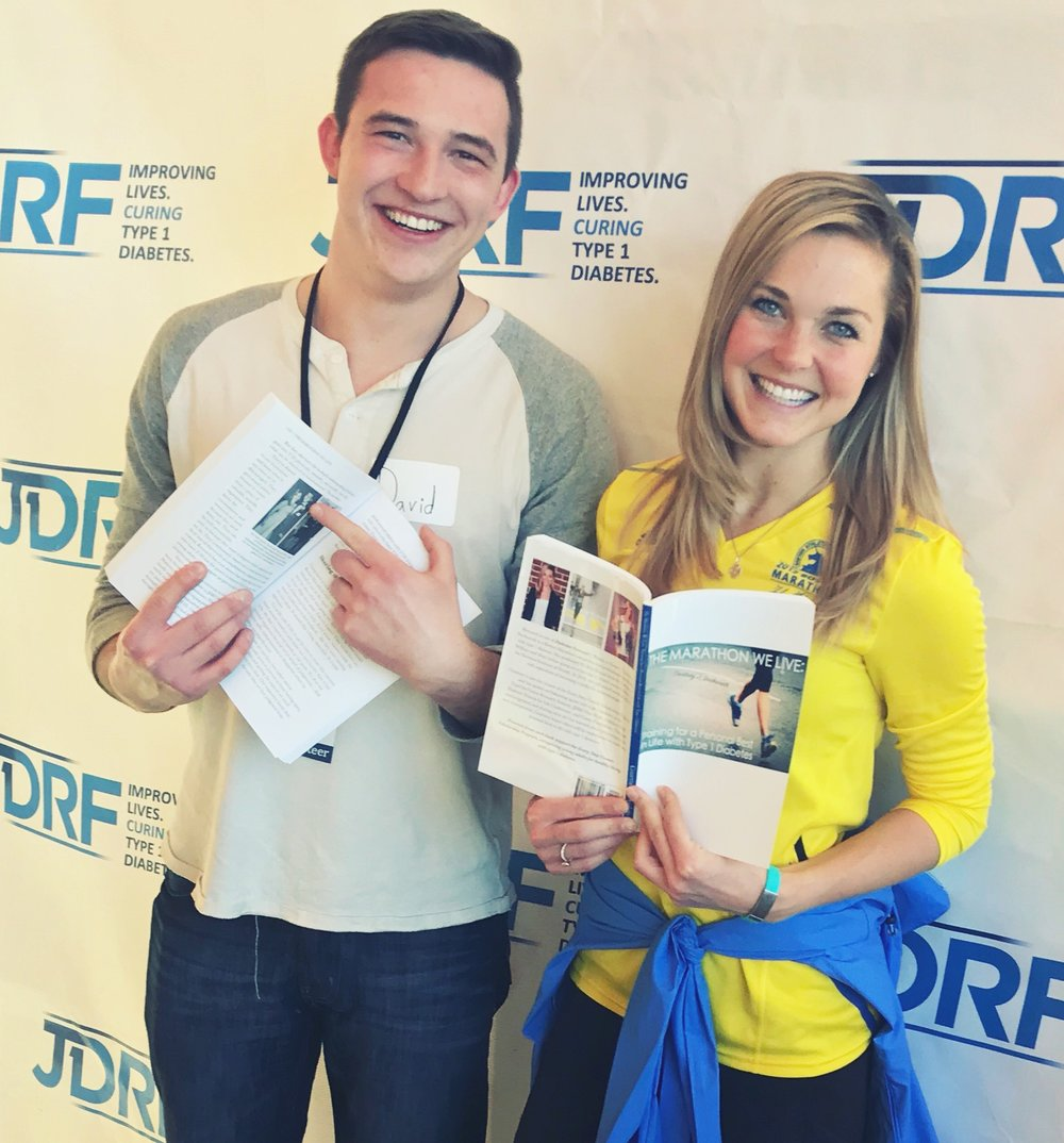 David and I met at the JDRF Gala in 2010 and have been diabesties ever since. He first introduced me to RoadID!