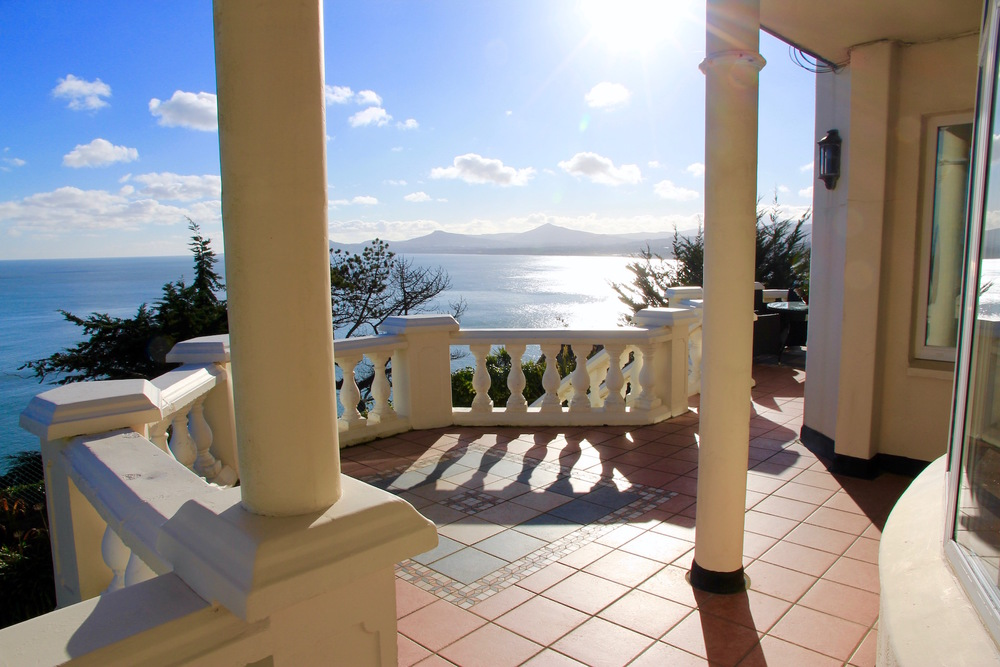 Terrace southern view