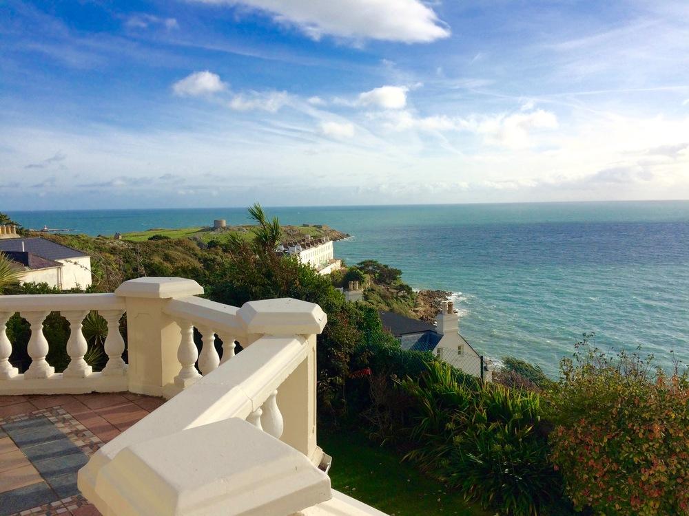 Balcony east sea view