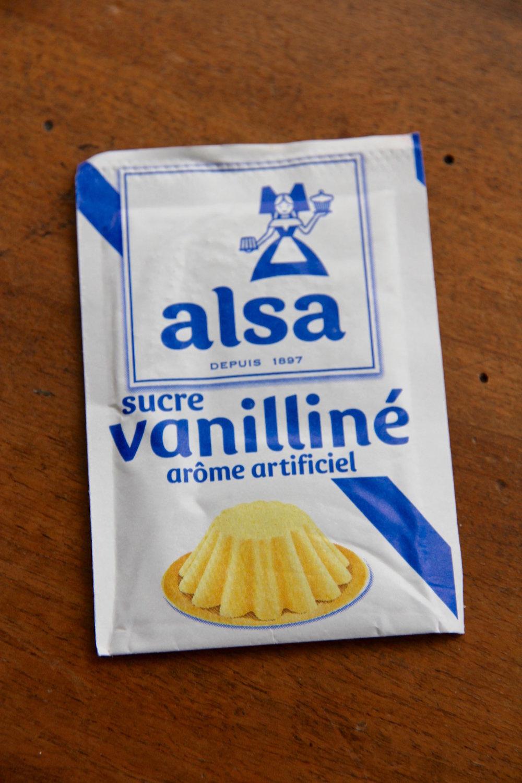 Sugar vanilliné