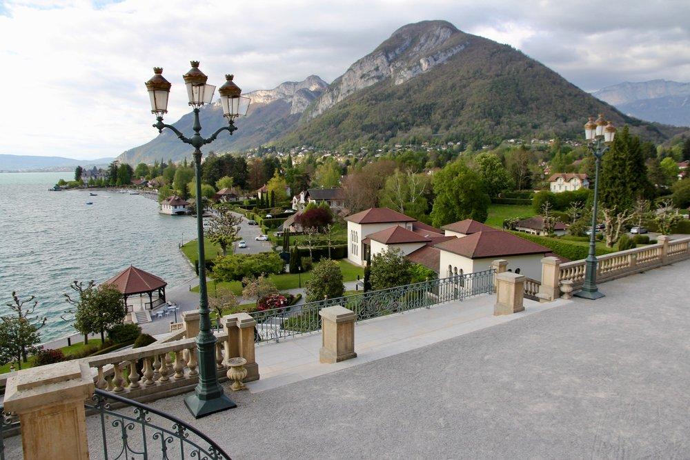 Menthon St Bernard on Lake Annecy