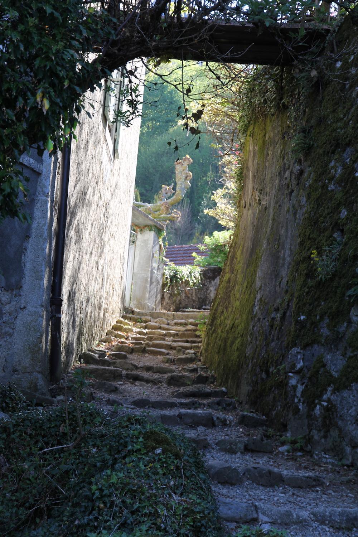 Menthon St Bernard Path to the Chateau
