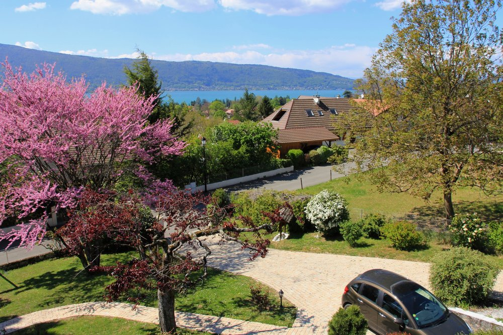 View from Lake Annecy Villa