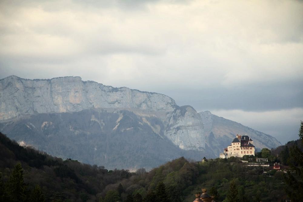 The Chateau of Menthon Saint Bernard