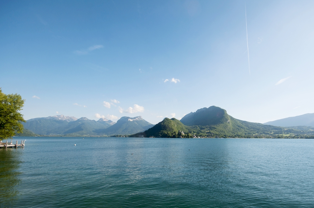 Serene Lake Annecy.
