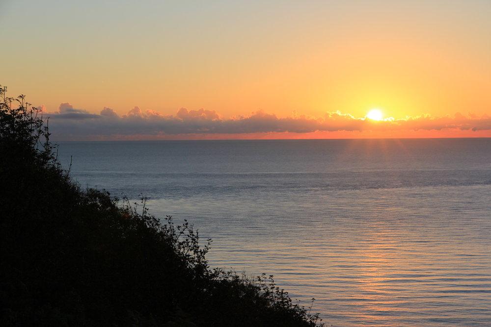 Killiney Walk at sunrise