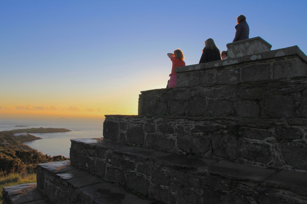 Top of Killiney Hill