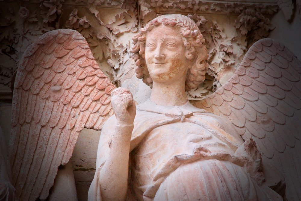 The Smiling Angel aka  Le Sourire de Reims