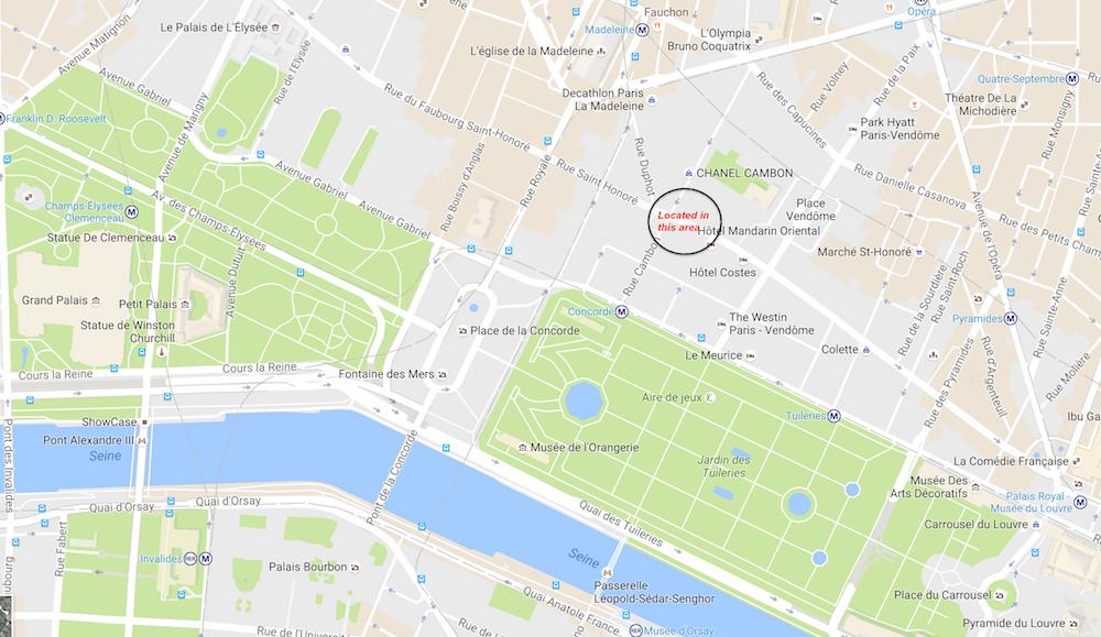 Map rue st hononre.png