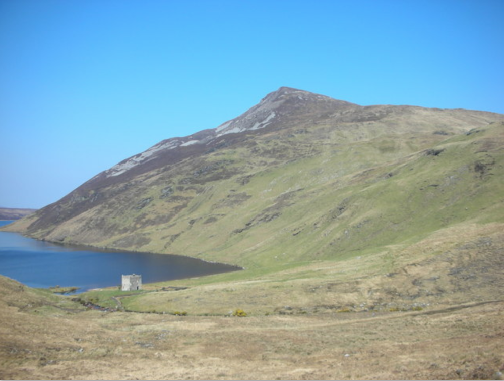 Altan Tower at the foot of Mt. Errigal. Photo Credit: Geograph.ie