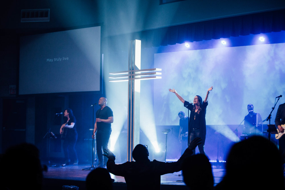1415 people attended Good Friday Services at C4 - 12.6% increase from 2016