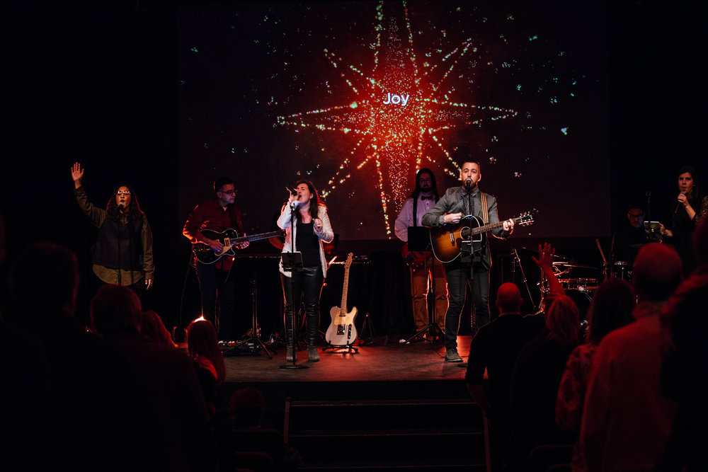 2248 people attended Christmas Eve Services at C4 - 22.4% increase from 2016