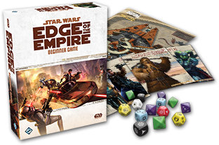 Dan won a Golden Geek award for the Star Wars: Edge of the Empire Beginner Game!