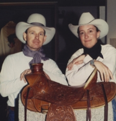 Rod McQueary and Sue Wallis Scholarship   Elko native Rod McQueary wrote poetry regarding ranch life that ranged from cleverly subtle to gut-busting hilarious. Married for 18 years, Rod and Sue Wallis were both raised on ranches and wrote based on their personal experiences. They were involved with the  National Cowboy Poetry Gathering  from its earliest days. The future of the Gathering is ensured by bringing more talented young people aboard to preserve and perpetuate ranch culture.