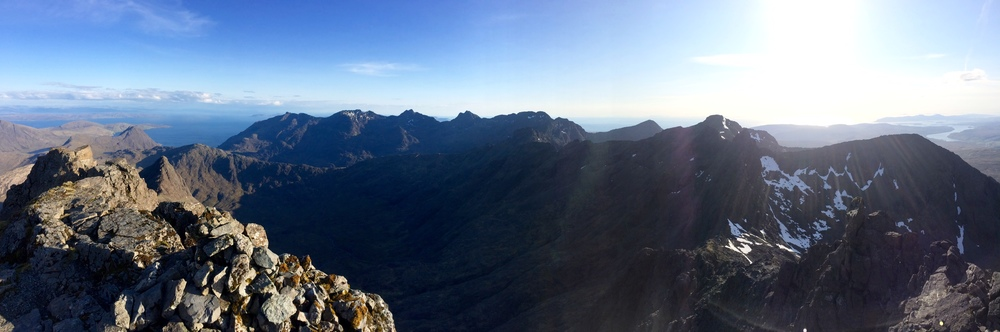 The amazing Skye Ridge