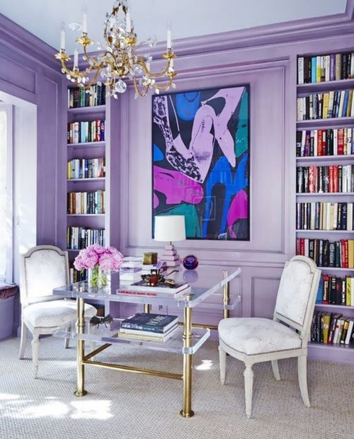 COLOR OF THE YEAR ULTRA VIOLET LAN STUDIO