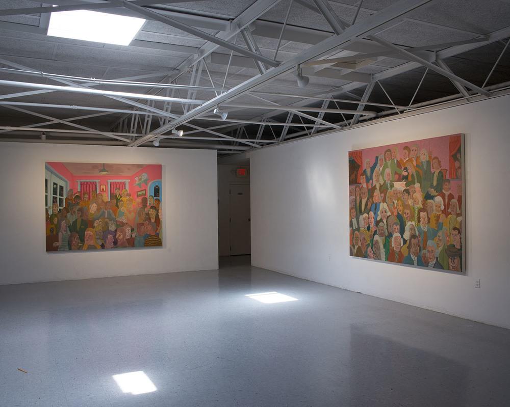 Old Haunts , Installation view, 2016