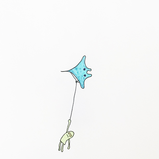 "064.  ""Sea-Kite""  I am quite sure that Manta Rays are the kites of the sea, if not, they definitely should be. Who wouldn't want a Manta Ray kite? #manta #ray #kite"