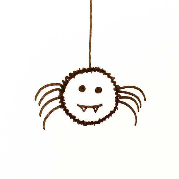 "015.  ""Incy Wincy Nasty Bitey Spider""  Had a spider dream last night. Here's hoping that it wasn't real...otherwise he might be back tonight! #spider"