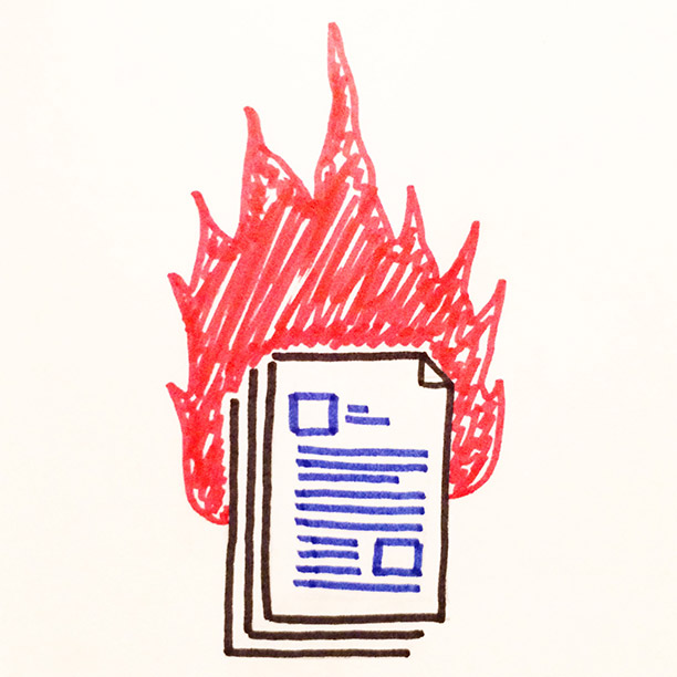 "004.  ""Doc. Fire""  When large InDesign documents cause a fire in your brain."