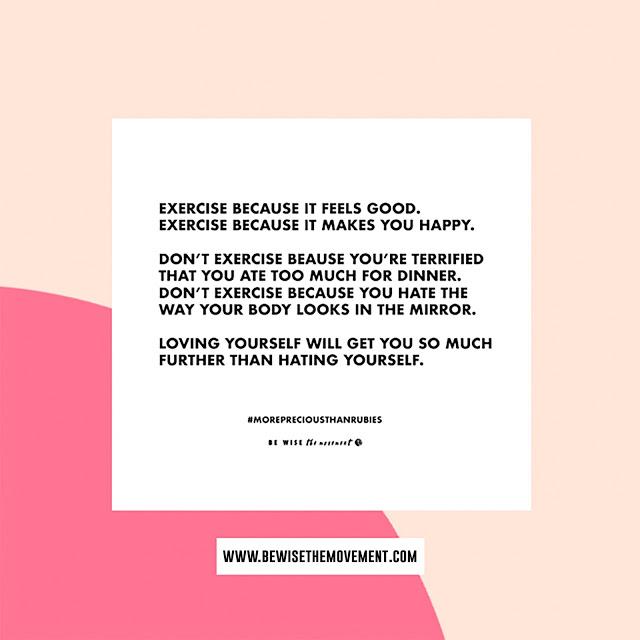 health+fitness benefitting self-worthquote