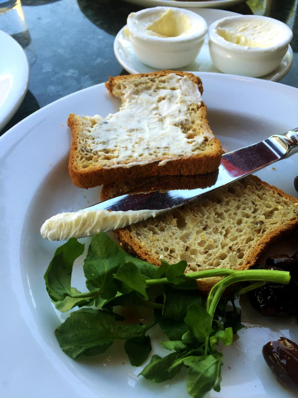 Complimentary Gluten Free Bread
