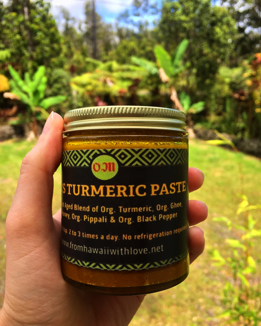 Sita's Turmeric Paste from Hilo Farmers Market