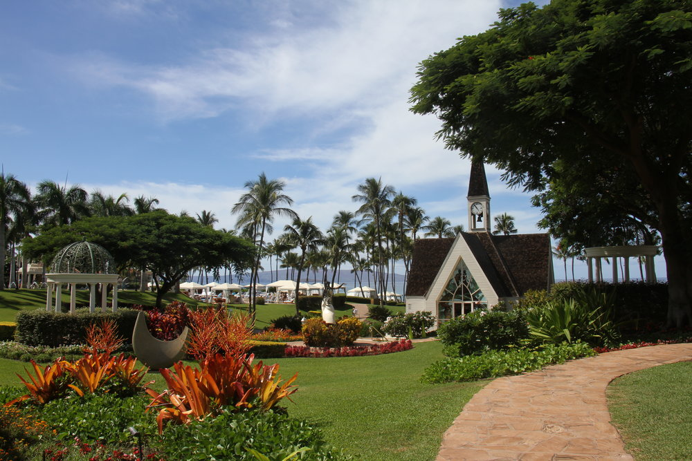 Grand Wailea grounds