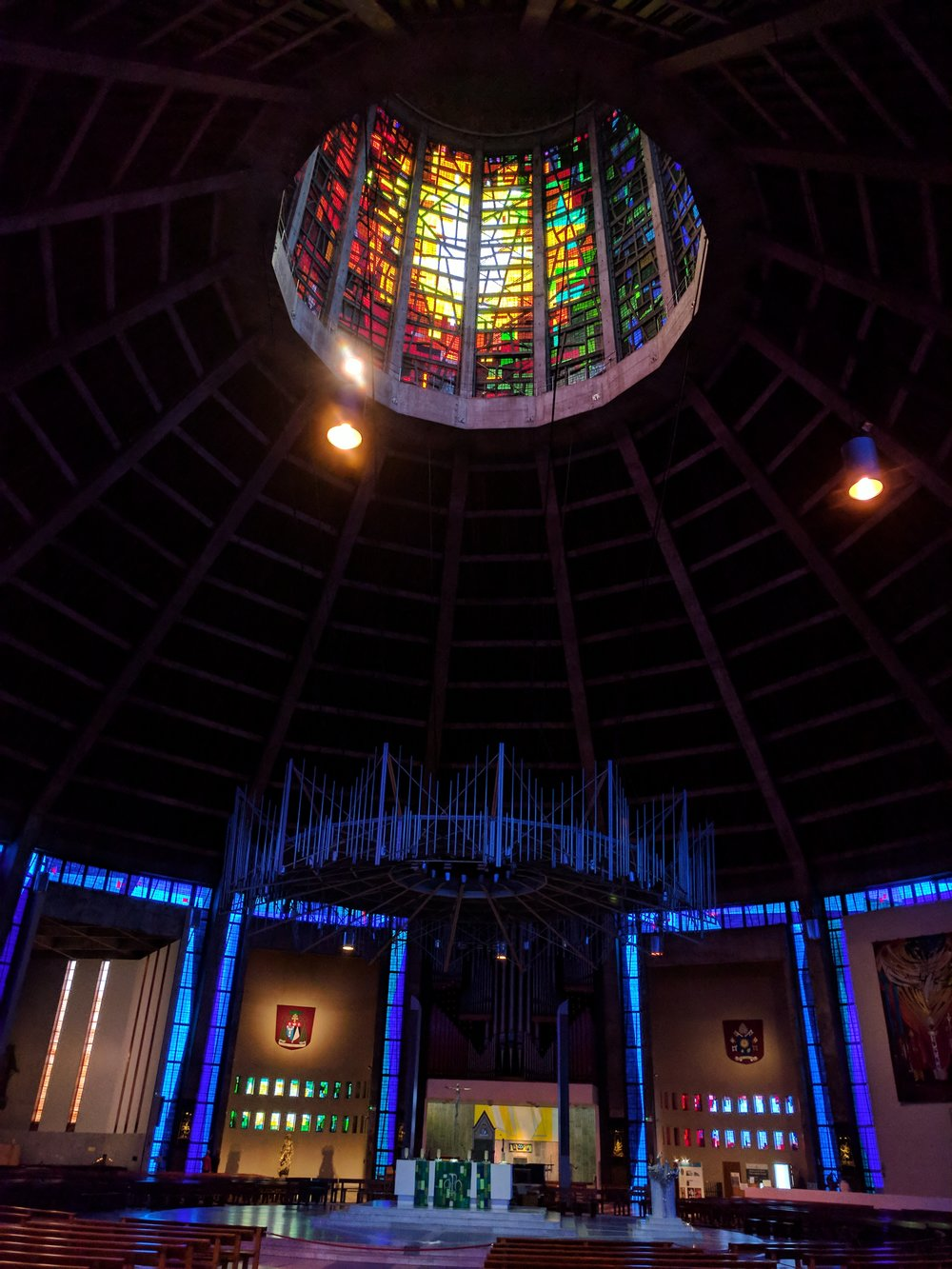 Inside of the Liverpool Metropolitan Cathedral