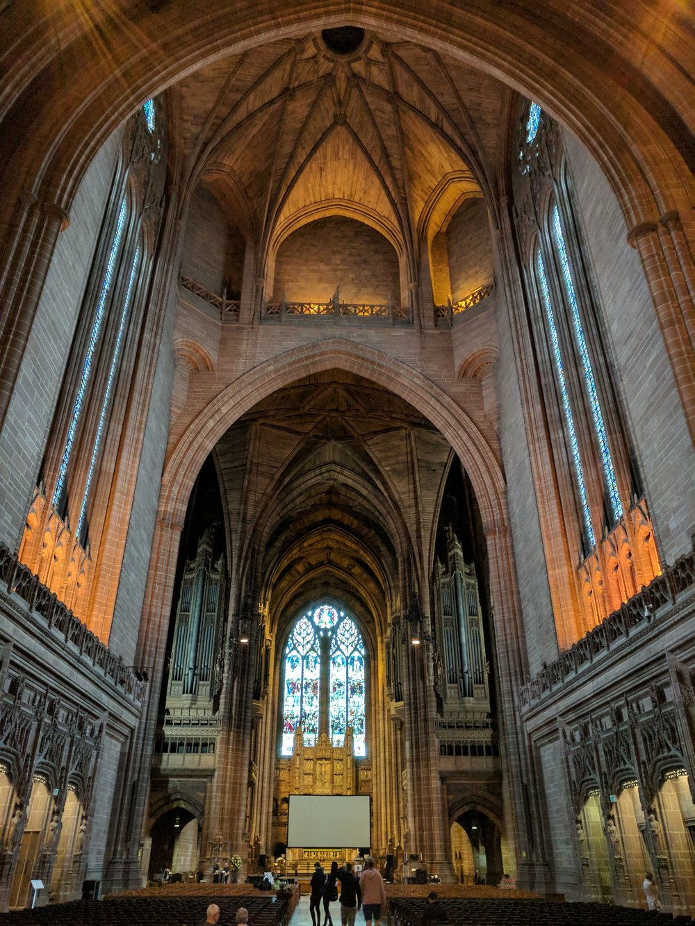 Inside of the Liverpool Cathedral