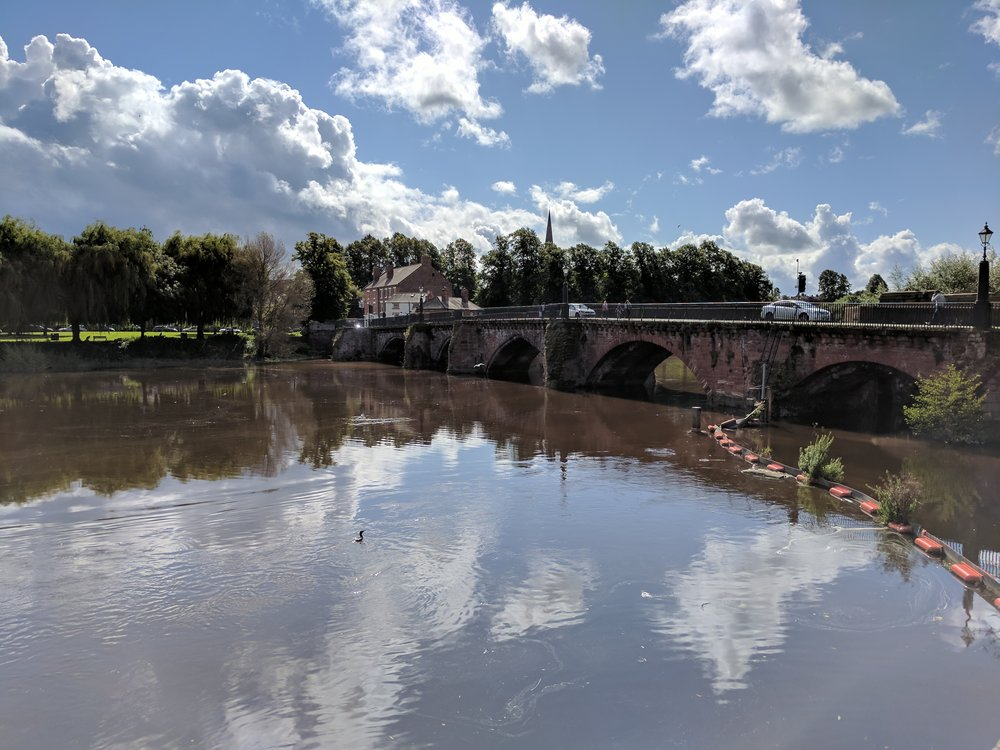 The River Dee in Chester, England