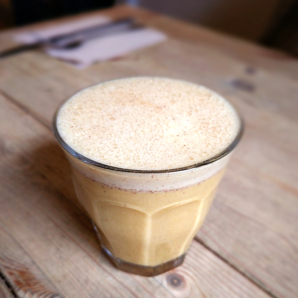 Turmeric and almond butter smoothie from Urban Angel