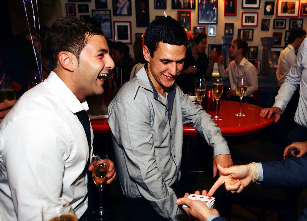 bar magician