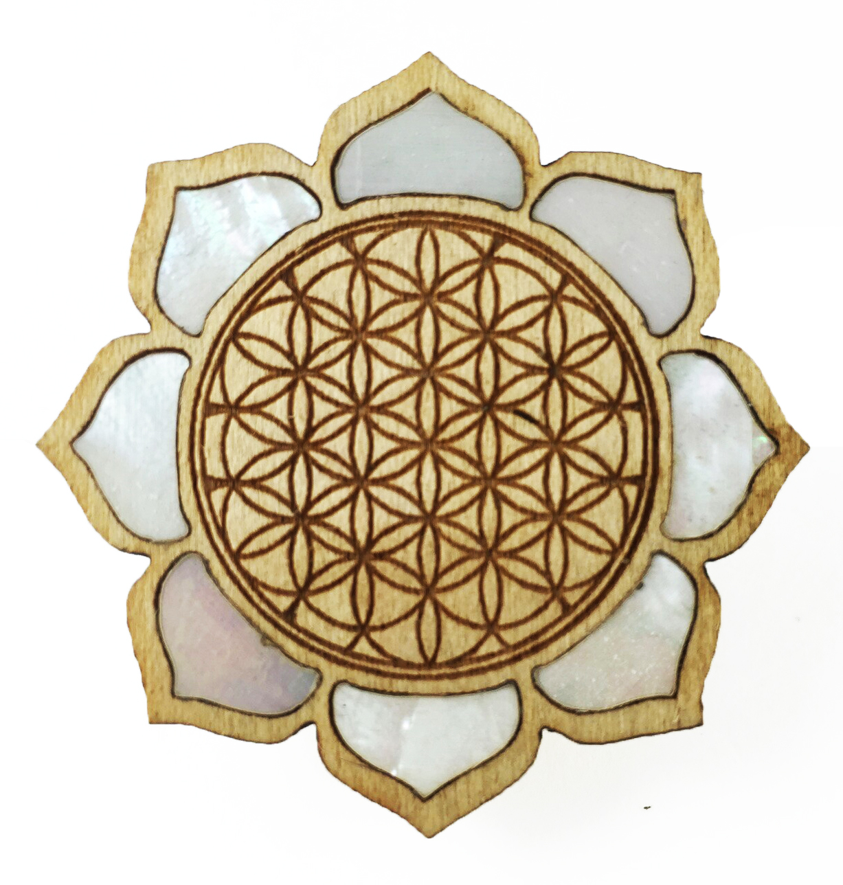 Flower Of Life Lotus Fat Freddys Creations
