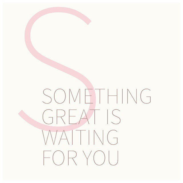 💚🙏😘 My Monday Meditation Mantra. Something great is waiting for me and for you. I ❤️ the hope and peace this brings. Sending you 👍 vibes for the week.
