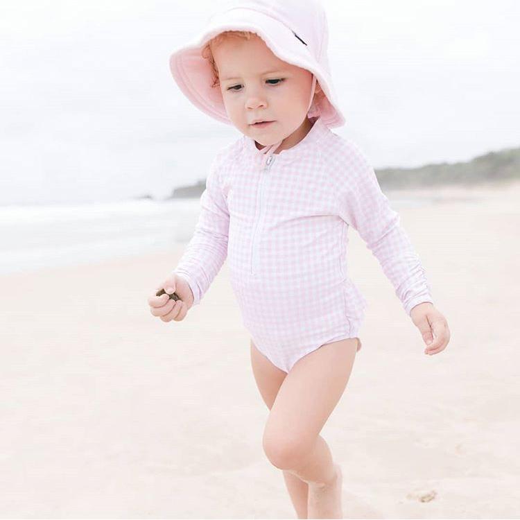 Children's swimwear print designs for coco&me swim.