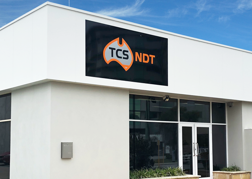 FRONT OF TCS NDT OFFICE