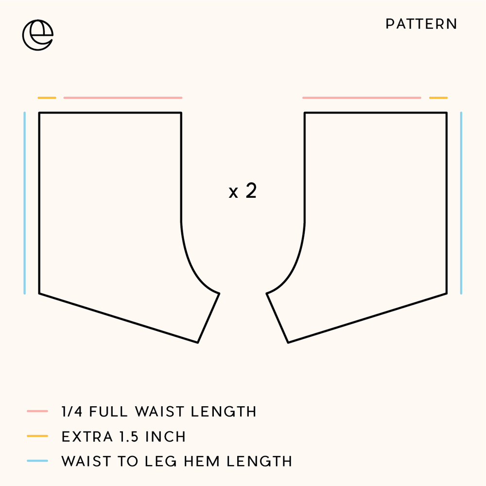 Highwaisted shorts pattern-06.png